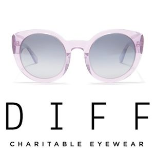 DIFF Eyewear Luna 54mm Sunglasses, Style#LUNA-AT-S